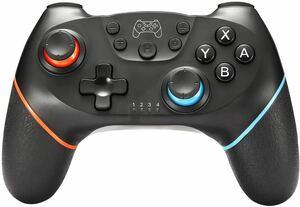 Switch コントローラー 無線Bluetooth接続 HD振動 6軸ジャイロセンサー搭載 スイッチコントローラー