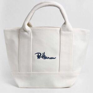 Ron Herman ミニトートバッグ ホワイト