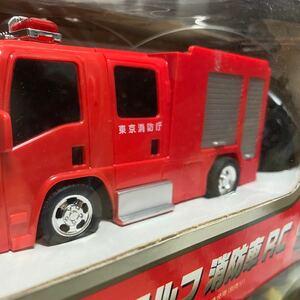 レア品 いすゞエルフ 消防車ラジコンカー
