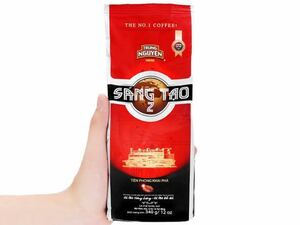 ベトナムで一番有名なコーヒーブランドであり、香りが甘くてとても美味しいです