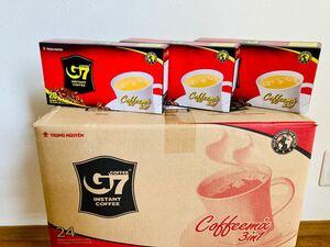 G 7ベトナムコーヒー カフェオレ 正規品 480袋×16g(24箱)