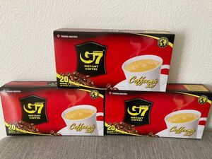 G 7ベトナムコーヒー カフェオレ 正規品 60袋x16g