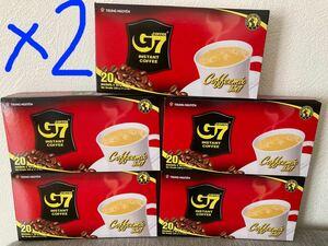 G 7ベトナムコーヒー カフェオレ 正規品 200袋x16g(10箱)