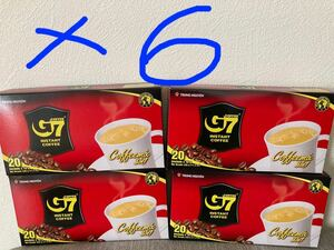 G 7ベトナムコーヒー カフェオレ 正規品 480袋x16g(24箱)