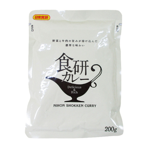 同梱可能 レトルトカレー 食研カレー 晩餐館 焼肉のたれでお馴染み日本食研 業務用 200gx4食セット/卸
