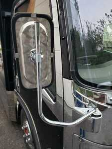 mirror stainless steel specular mirror stay retro concerned with deco truck 07 Elf exhaust .b set