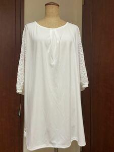 チュニックドレス 白 17号サイズ