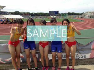 R119 生写真 レーシングブルマ 女子 陸上 L判 L版 女子アスリート 高画質 グラビア スポーツ