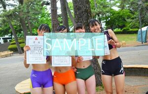 R118 生写真 レーシングブルマ 女子 陸上 L判 L版 女子アスリート 高画質 グラビア スポーツ