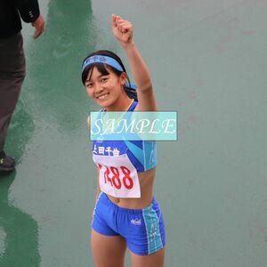 R13 生写真 レーシングブルマ 女子 陸上 L判 L版 女子アスリート 高画質 グラビア スポーツ