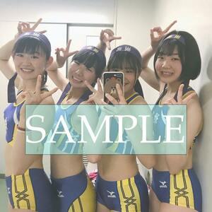 R162 生写真 レーシングブルマ 女子 陸上 L判 L版 女子アスリート 高画質 グラビア スポーツ
