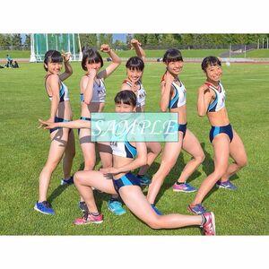 R16 生写真 レーシングブルマ 女子 陸上 L判 L版 女子アスリート 高画質 グラビア スポーツ