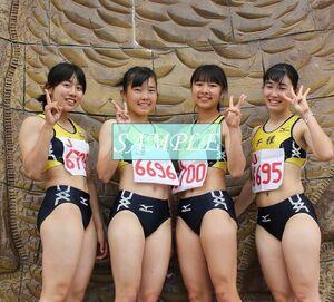 R28 生写真 レーシングブルマ 女子 陸上 L判 L版 女子アスリート 高画質 グラビア スポーツ