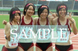 R130 生写真 レーシングブルマ 女子 陸上 L判 L版 女子アスリート 高画質 グラビア スポーツ