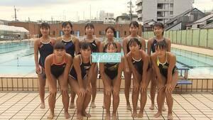 S12 生写真 水泳 水着 スク水 競泳水着 女子 L判 L版 女子アスリート 高画質 グラビア スポーツ
