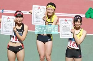 R124 生写真 レーシングブルマ 女子 陸上 L判 L版 女子アスリート 高画質 グラビア スポーツ