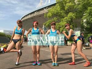 R155 生写真 レーシングブルマ 女子 陸上 L判 L版 女子アスリート 高画質 グラビア スポーツ