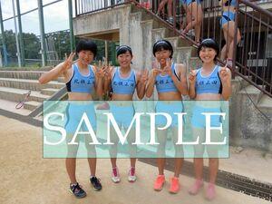R150 生写真 レーシングブルマ 女子 陸上 L判 L版 女子アスリート 高画質 グラビア スポーツ