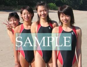 S29 生写真 水泳 水着 スク水 競泳水着 女子 L判 L版 女子アスリート 高画質 グラビア スポーツ