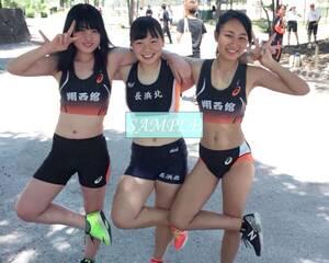 R34 生写真 レーシングブルマ 女子 陸上 L判 L版 女子アスリート 高画質 グラビア スポーツ