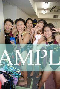 S32 生写真 水泳 水着 スク水 競泳水着 女子 L判 L版 女子アスリート 高画質 グラビア スポーツ