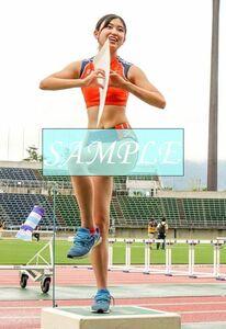 R40 生写真 レーシングブルマ 女子 陸上 L判 L版 女子アスリート 高画質 グラビア スポーツ