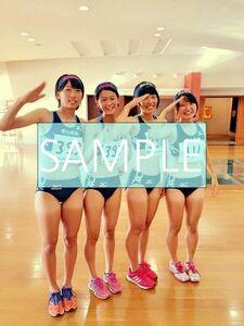 R111 生写真 レーシングブルマ 女子 陸上 L判 L版 女子アスリート 高画質 グラビア スポーツ