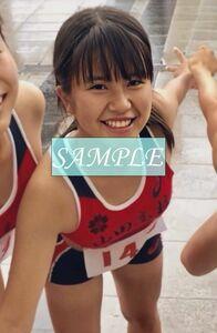 R50 生写真 レーシングブルマ 女子 陸上 L判 L版 女子アスリート 高画質 グラビア スポーツ