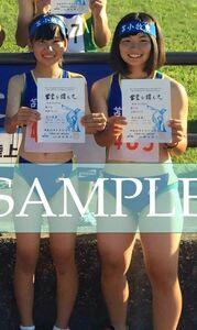 R140 生写真 レーシングブルマ 女子 陸上 L判 L版 女子アスリート 高画質 グラビア スポーツ