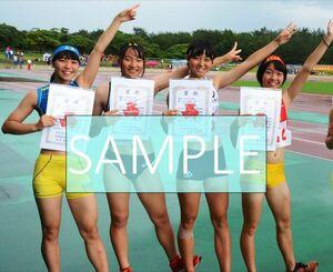 R69 生写真 レーシングブルマ 女子 陸上 L判 L版 女子アスリート 高画質 グラビア スポーツ