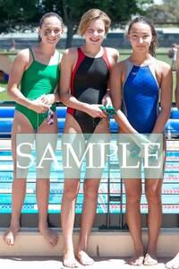 S37 生写真 水泳 水着 スク水 競泳水着 女子 L判 L版 女子アスリート 高画質 グラビア スポーツ