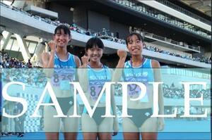 R156 生写真 レーシングブルマ 女子 陸上 L判 L版 女子アスリート 高画質 グラビア スポーツ
