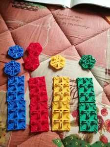 ラキュー LaQ スペシャルパーツ パックスパーツ2種類=14個セット