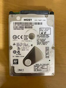 500GB 3200h HDD 7mm厚 2.5インチ