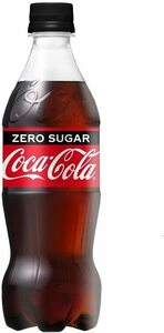 ▽ コカ・コーラ ゼロ ペットボトル 500ml × 24本