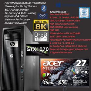 稀少限定★SuperGamingSET/165Hz/0.5ms27インチ新品モニター&GTX1070-8GB/Core i7超爆速16CPU-3.80GHz&高性能新品SSD500GB/32GB(即決
