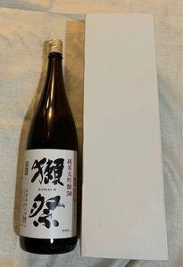 純米大吟醸 50 獺祭(だっさい) 箱 1800ml 旭酒造
