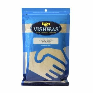 vishwas GINGER POWDER / ジンジャーパウダー 100g /カレースパイス カレー香辛料 スパイスカレー インドカレー スリランカカレー 種類