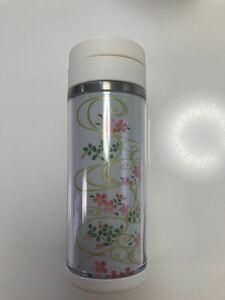 【未使用】ステンレスボトル 橋本漆芸 蒔絵ステンレスボトル 220ml 和柄 マイボトル