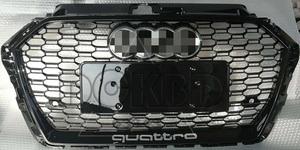 Audi アウディ A3 RS3 スタイル フロント スポーツ フロント グリル 2色可選 2017~(後期)