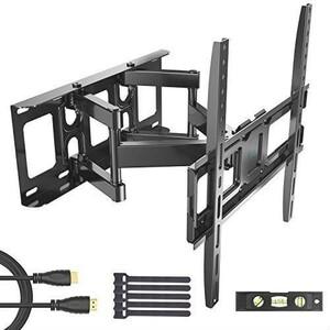 即決+ 32-55インチ対応 LED 耐荷重45kg LCD PERLESMITH アーム式 テレビ壁掛け金具 液晶テレビ用 中型