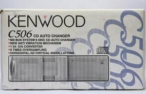 KENWOOD C506 MX-BUS переписка  6 изменение Disk  CD ченджер   Неиспользованный