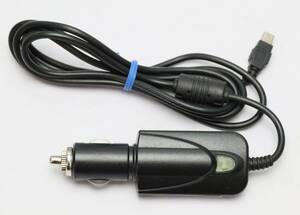 ユピテル GER-11C-MI レーダー・ポータブルナビ用 純正 5Vコンバーター付シガープラグコード OP-E712同等 中古