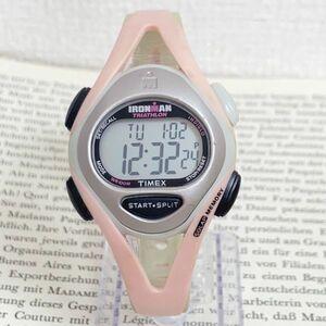 ★TIMEX IRONMAN TRIATHLON 多機能 腕時計★ タイメックス アイアンマン トライアスロン 50LAP アラーム クロノ タイマー 稼動品 F5794
