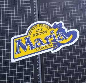 旧ロゴ YAMASHITA ヤマシタ ヤマリア 反射ステッカー シール リフレクター/餌木 エギ マリア 人魚 マーメイド