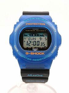 CASIO G‐SHOCK G‐LIDE GWX‐5700K‐2JR ブラック×ブルー タイド機能 カシオ ジーショック ソーラー電池 腕時計 ◆3109/宮竹店