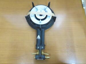 14-21700 タチバナ製作所 鋳物コンロ 2重 ハイカロリー 都市ガス TS-208 種火なし バーナーのみ 業務用調理機器 卓上コンロ ガスコンロ