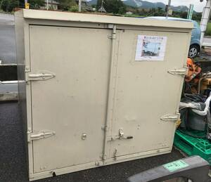 light truck container carrier box storage room parts truck Shiga prefecture *** receipt limitation (pick up) ***