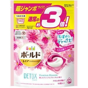 ボールド ジェルボール3D 癒しのプレミアムブロッサムの香り 詰替用 46個入 3袋セット