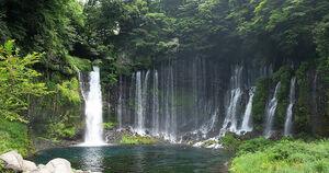 WEB素材 画像 写真 データ 撮影 フリー  オリジナル 滝 3
